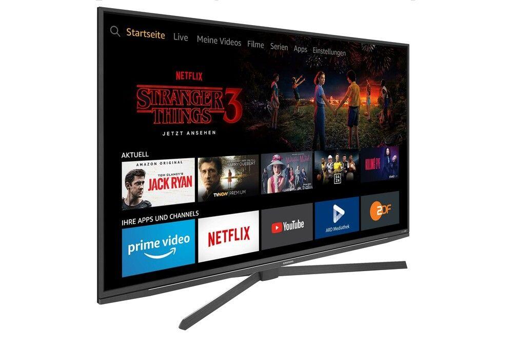 Grundig 55 GUT 8055 Florenz - Fire TV Edition LED TV (55 Zoll (139 cm), 4K UHD, Smart TV, Sprachsteuerung, HDR)