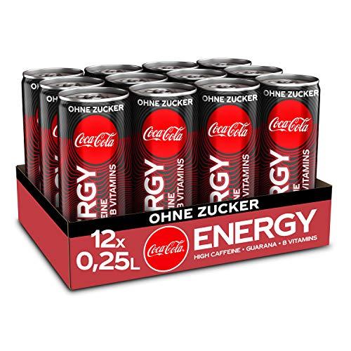 Amazon Prime: Coca Cola Energy Drink 12 Dosen. Einzeldose kostet 82,333Cent, 250ml Inhalt jeweils