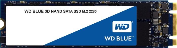 Western Digital WD Blue 3D NAND SATA SSD 1TB, M.2 (3D-NAND TLC, 1GB Cache + SLC-Cache, R560, W530, 5 Jahre Herstellergarantie)