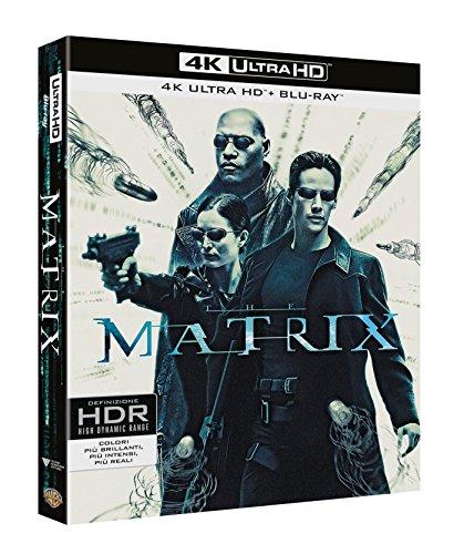 Matrix 4K Ultra HD Blu-ray Trilogie mit deutscher Tonspur (+ Blu-ray ohne deutsche Tonspur) oder den 1. Teil für 16,65 €