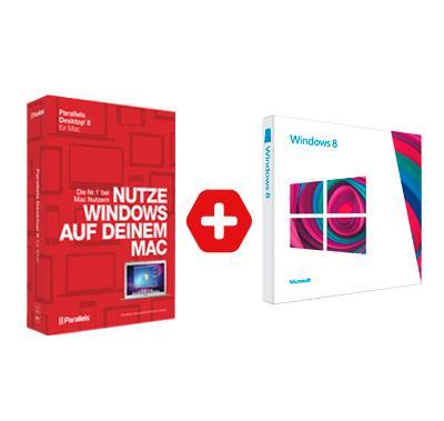 Windows 8 (64 bit) OEM und Parallels Desktop 8 für 99,90€ / 30% Ersparnis zu idealo.de