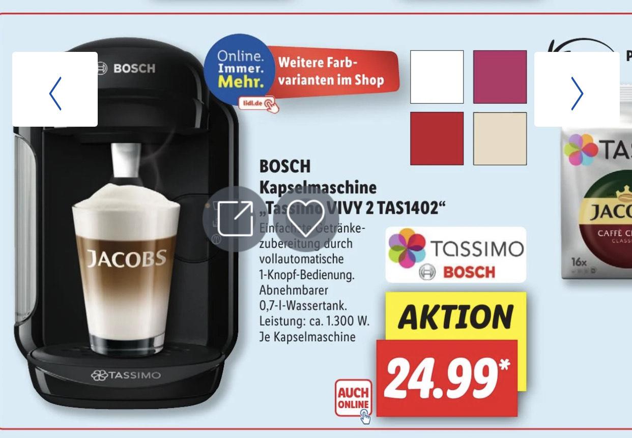 Bosch Vivy 2 ab Montag bei Lidl in der Aktion