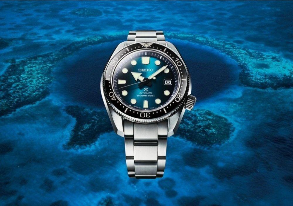Seiko Prospex Diver Great Blue Hole / MM200 Automatikuhr SPB083J1