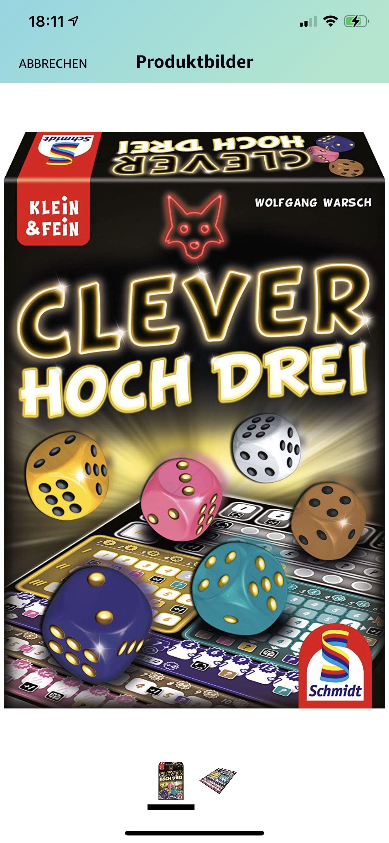 Clever hoch drei - Schmidt Spiele