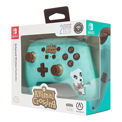 Animal Crossing K.K. Slider Nintendo Switch Controller (PowerA) Wireless Controller