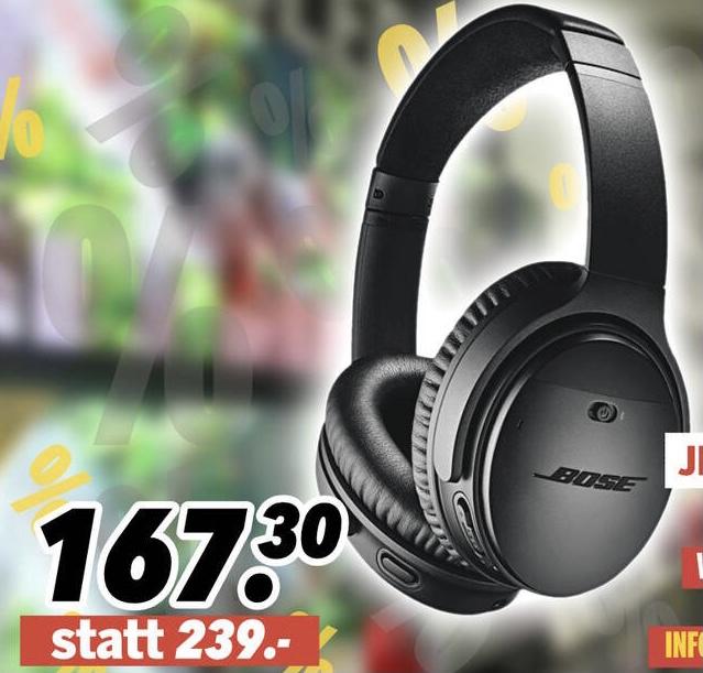 Lokal MEDIMAX Andernach: BOSE QC 35 II Noise Cancelling Kopfhörer für 167,30€ / Apple MacBook Air 512GB i5 MVH42D/A für 936,75€