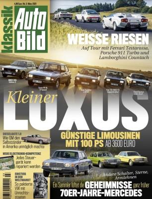 Auto Bild Klassik Abo (6 Ausgaben) für 32,40 € mit einem 30 € BestChoice-Universalgutschein