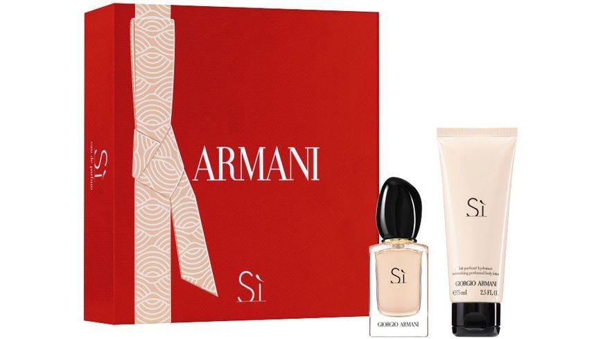 Geschenkset Giorgio Armani Sì (30 ml) + Body Lotion (75 ml)