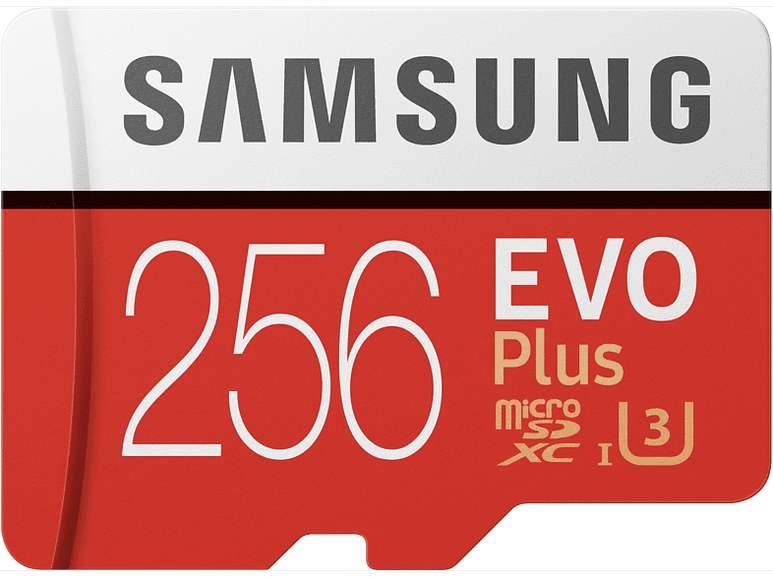 SAMSUNG EVO Plus Micro-SDXC Speicherkarte 128GB 100 MB/s für 13€ / 256GB für 27€ inkl. Versandkosten