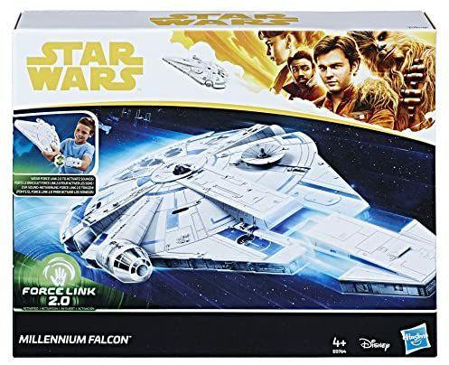 "Hasbro Star Wars E0764EU4 Han Solo Film - FORCE LINK 2.0"" Millennium Falcon, Spielset mit Rettungskapsel, Fahrwerk und Sound [Amazon Prime]"