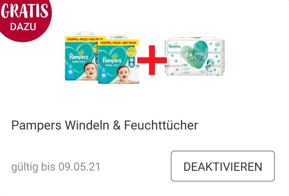 Pampers Windeln & Feuchttücher