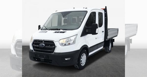Privatleasing: Ford Transit DOKA-Pritsche (konfigurierbar) für 99€ (eff 142€) monatlich - LF:0,24