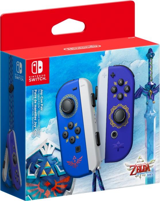 [Vorbestellung] NINTENDO Switch Joy-Con 2er-Set Zelda Skyward Sword HD Edition Controller Blau