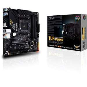 ASUS TUF Gaming B550M-Plus Gaming Mainboard Sockel AM4 (micro ATX, Ryzen, PCIe 4.0, 2x M.2, 2Gbit/s Ethernet [Alza]
