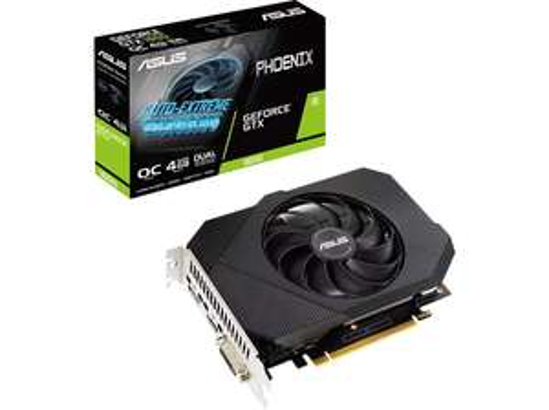 [Media Markt / Saturn] ASUS Phoenix GeForce GTX 1650 OC P, PH-GTX1650-O4GD6-P, 4GB GDDR6