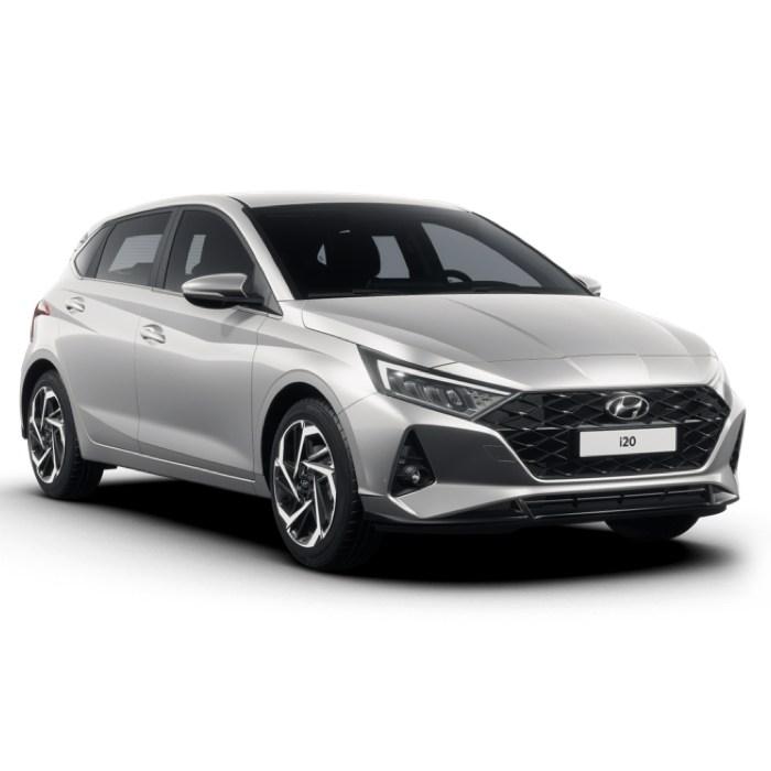 [Privatleasing] Hyundai i20 Select 1.0 T-GDI (100 PS) mtl. 109,46€ + W&V + 725€ ÜF (eff. mtl. 124,56€), LF 0,59, GF 0,67, 48 Monate