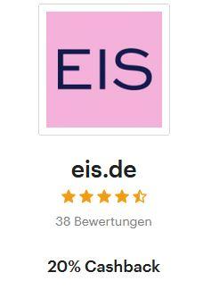 (Shoop): 20 Prozent Cashback bei Eis.de