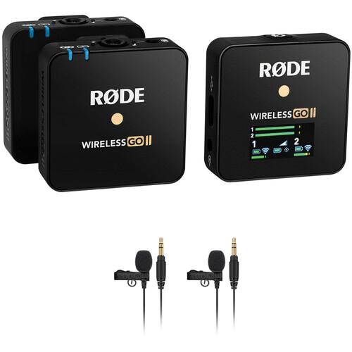 Rode Wireless GO II Black - Mikrofonsystem