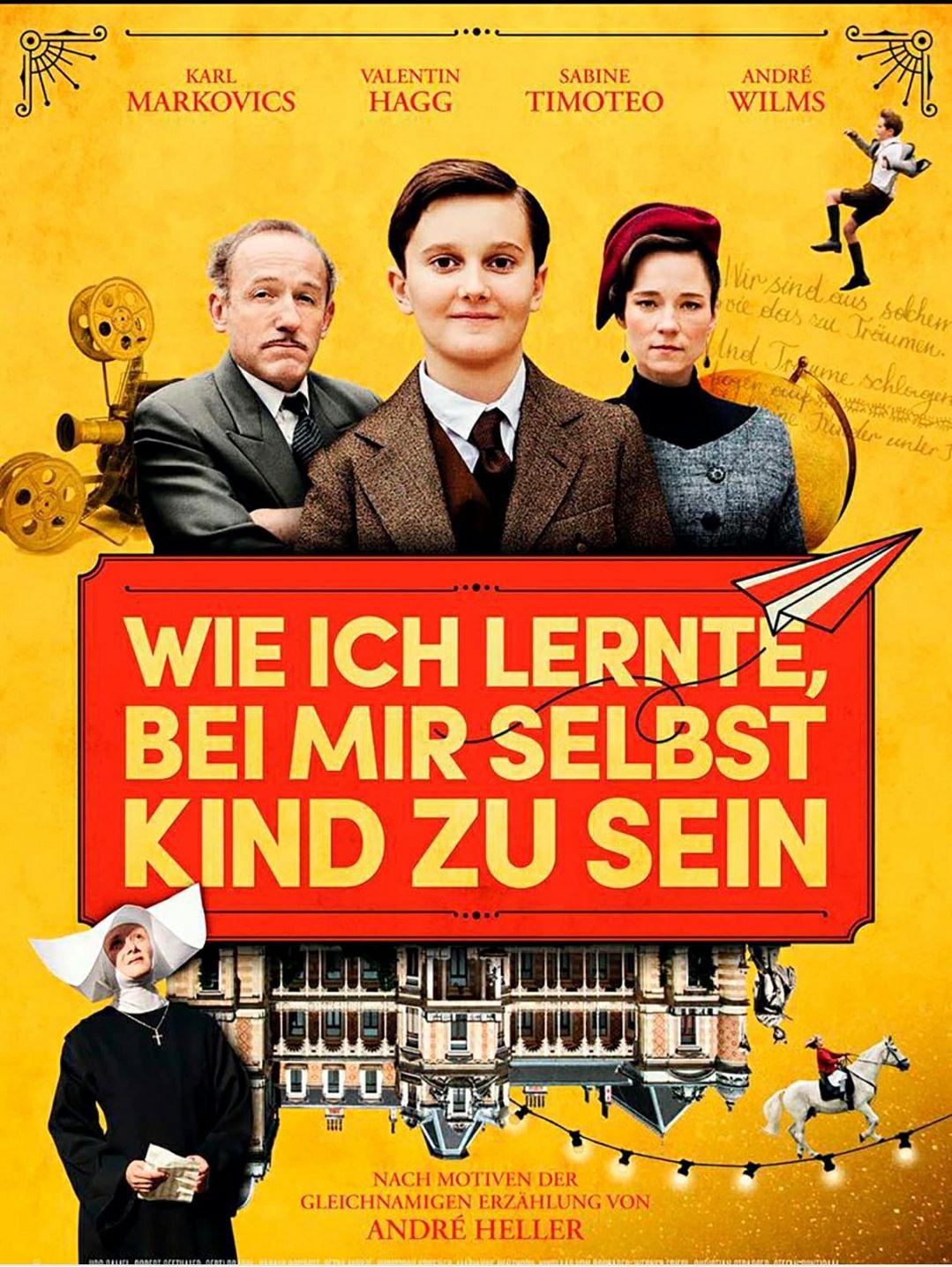 """[ARD Mediathek] """"Wie ich lernte, bei mir selbst Kind zu sein """" mit Karl Markovics kostenlos streamen [IMDb 7.0]"""