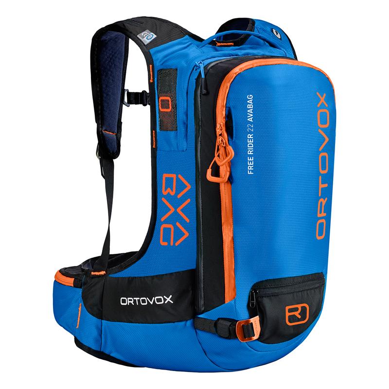 (Funktionelles) Ortovox Free Rider 22 Avabag ready Rucksack mit Rückenprotektor