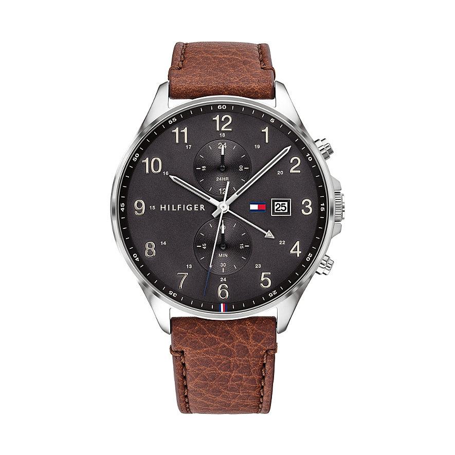 [Christ] Tommy Hilfiger Herren Multi Zifferblatt Quarz Armbanduhr West 1791710 | mit 14% Shoop für 68,80€