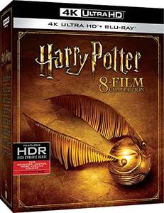 Harry Potter Complete Collection (4K Blu-ray + Blu-ray) für 66,22€ inkl. Versand (Amazon.it)