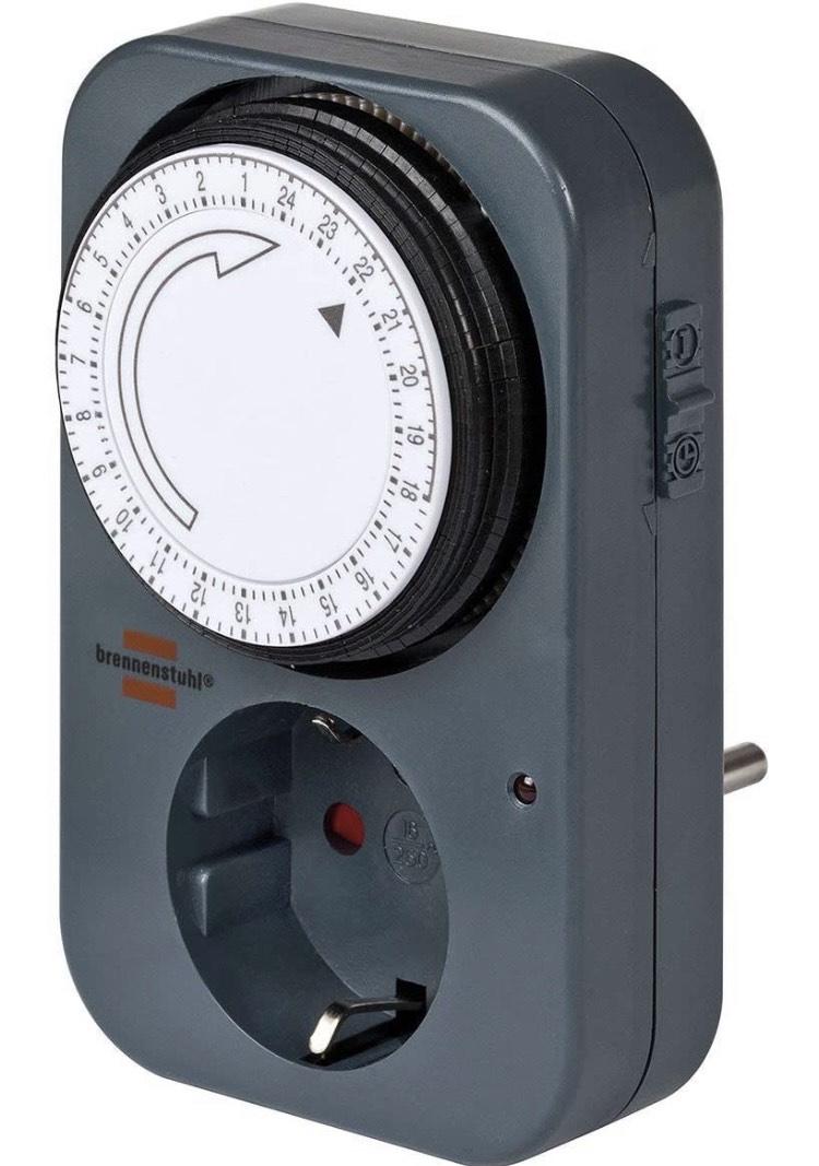[Prime]Brennenstuhl Zeitschaltuhr MZ 20 - ab 4 Stück nur 2,76€ pro Stück