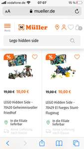 Lego Hidden Side 70420 und 70429 EOL