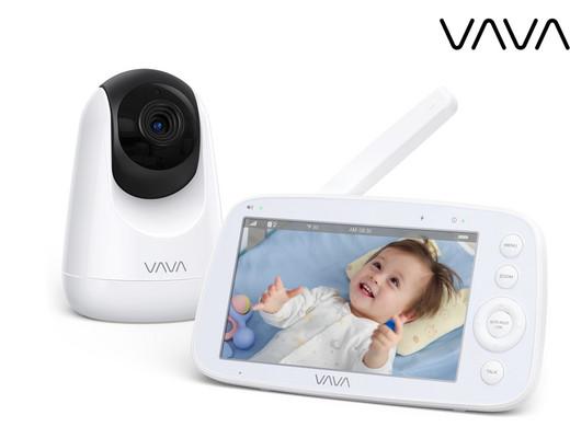 """VAVA Babyphon VA-IH006 (5""""-HD-Bildschirm, 720p, Bis zu 24 Std Akkubetrieb, Zwei-Wege-Sprechsystem) [iBOOD]"""