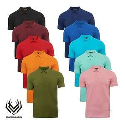 Roberto Barini Polos in 10 Farben bis 3XL für je 13,99€ (statt 22€)