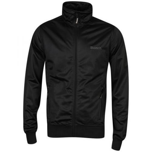 [Zavvi] Bench Men's Classic Zip Through Sweatshirt - Black
