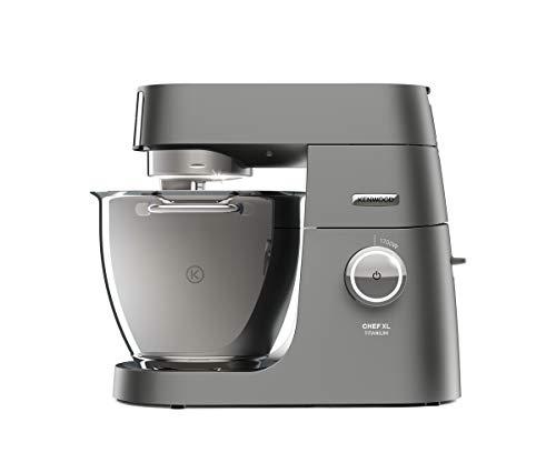 Kenwood Chef XL Titanium KVL8300S Küchenmaschine, 1.700 W, 6,7 l Füllmenge, 5-teiliges Patisserie-Set System Pro