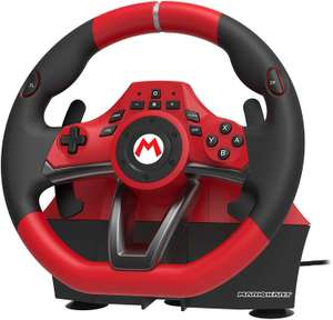 Hori Mario Kart Racing Wheel Pro Deluxe - Gaming-Lenkrad inkl. Pedale (für Nintendo Switch & PC, offiziell lizenziert)