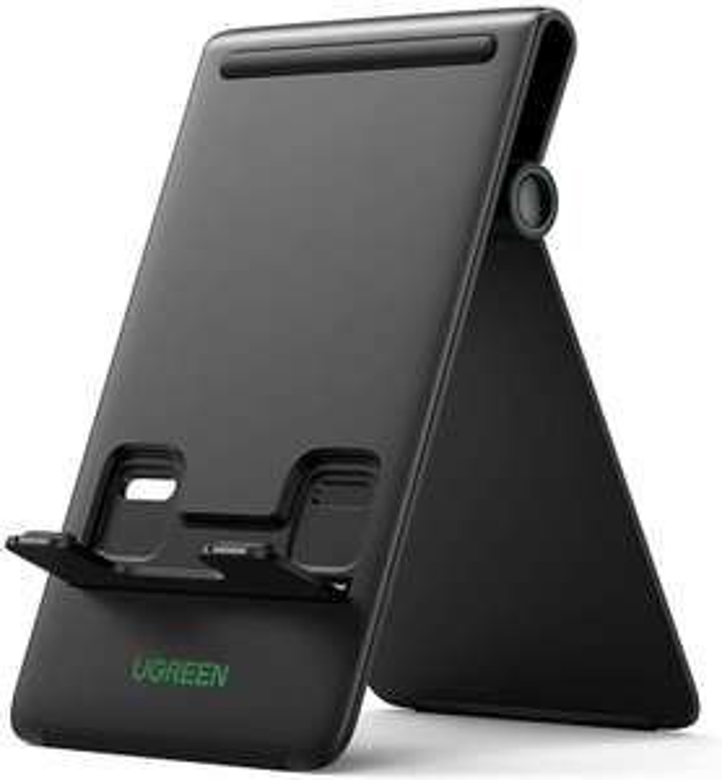 """[Prime] Ugreen 20439 Tablet-Ständer (klappbar, Winkel bis 94°, Silikonbeschichtung, für Geräte bis 12.9"""")"""