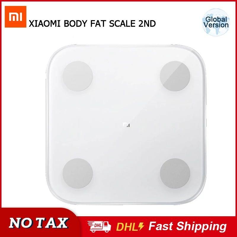 XiaomiMi Body Composition Scale 2 Smarte Bluetooth Waage Körpergewicht Körperfett BMI Muskelmasse - 3 Tage Versand aus Deutschland