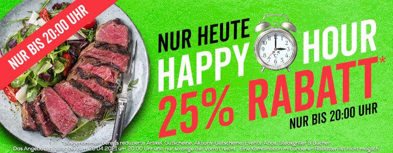 25% Rabatt auf fast alles bei Gourmetfleisch.de von 12 Uhr bis 20 Uhr