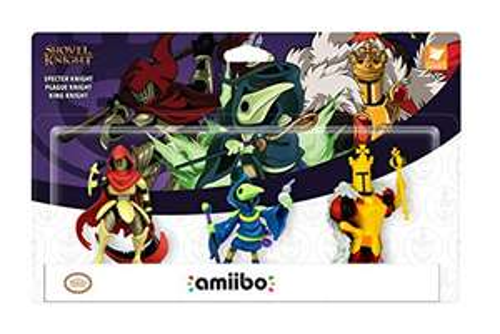 [Amazon Prime] Nintendo amiibo Shovel Knight Dreierpack: Specter Knight + Plague Knight + King Knight