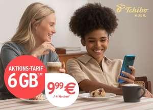 [Freebie] 2 Monate (56 Tage) O2 Tchibo Mobil 6GB LTE + Allnet/SMS mit VoLTE und VoWiFi durch 25€ Auszahlung