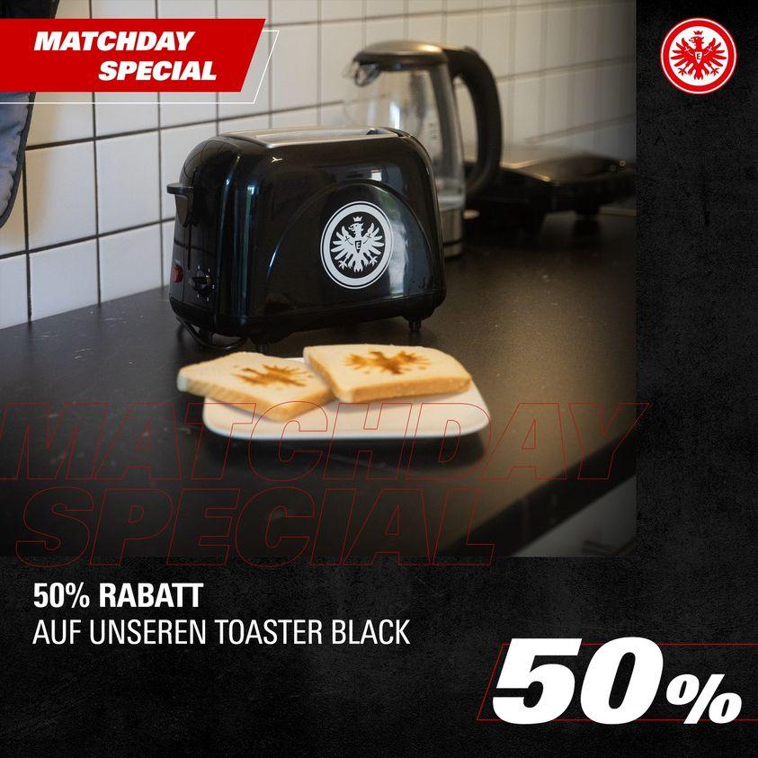 [Eintracht Frankfurt] Toaster - Matchday Angebot
