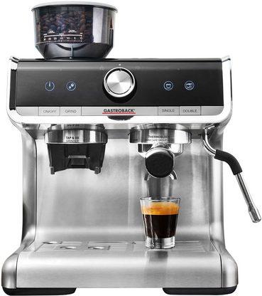 [yourhome] Gastroback Siebträgermaschine 42616 Design Espresso Barista Pro mit Newsletter Gutschein