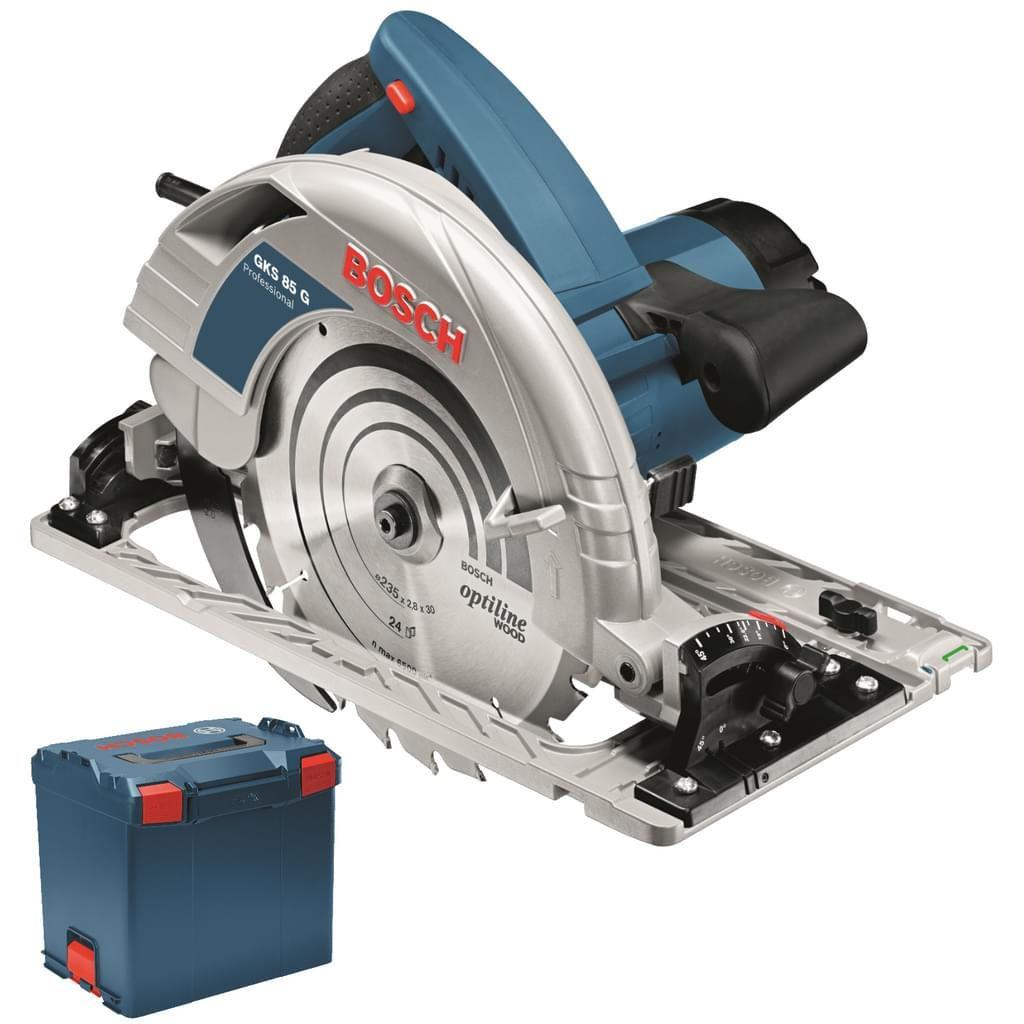 Bosch Professional Handkreissäge GKS 85 G 2.200 W in L-Boxx