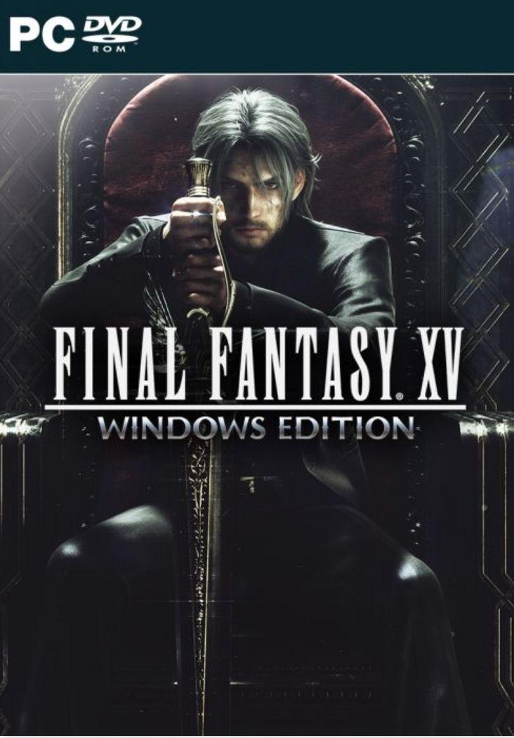 Final Fantasy XV CD mit Steam Code