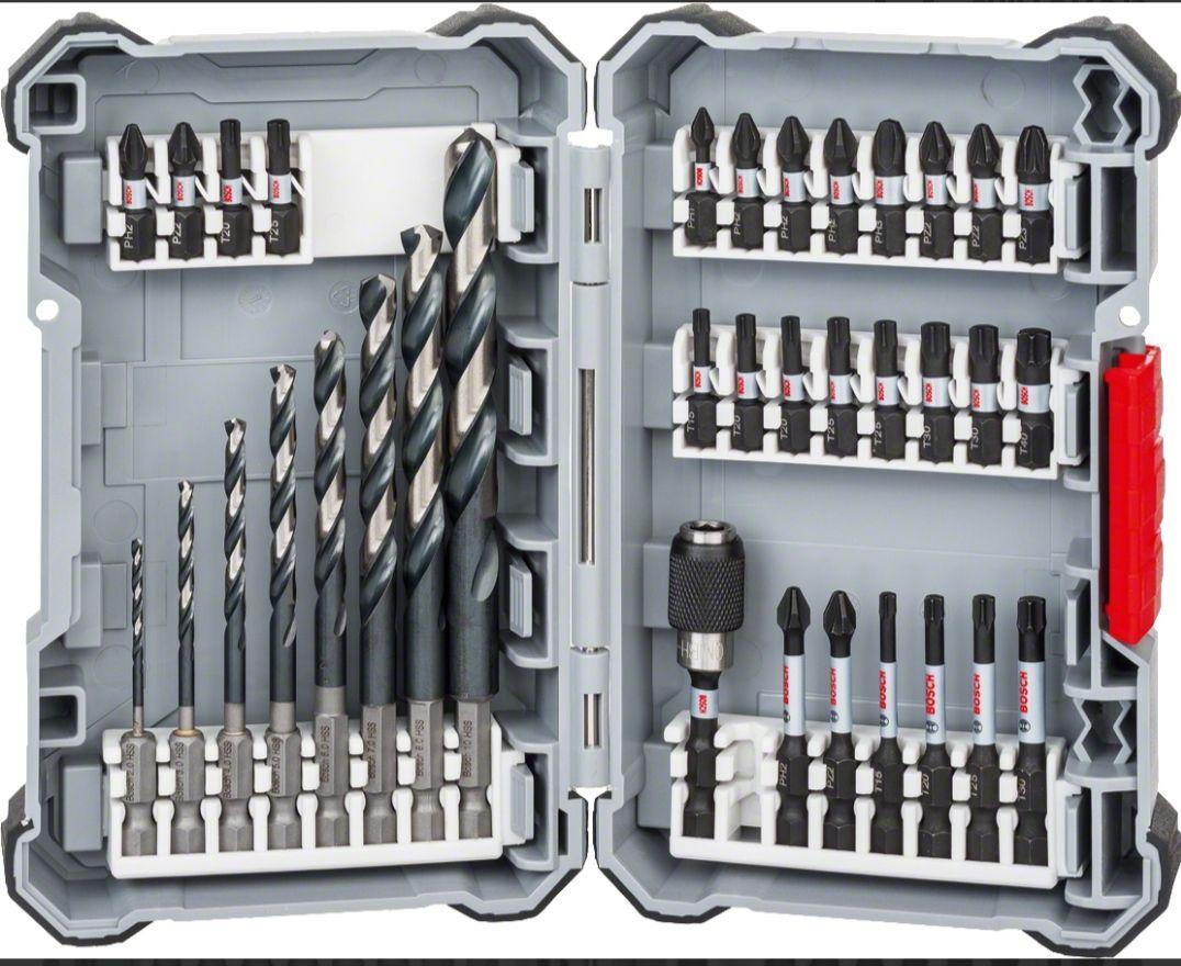 Bosch HSS Bohrer-/ Bit-Set Impact Control 35 tlg.