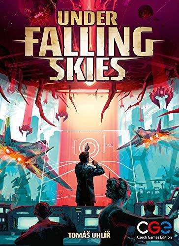 Under Falling Skies Solo Brettspiel