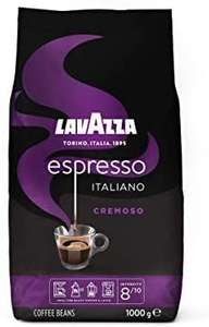 1kg Lavazza Espresso - Italiano Cremoso - Aromatische Kaffeebohnen - Prime*Sparabo* (Versandbereit in 1-2 Tagen)