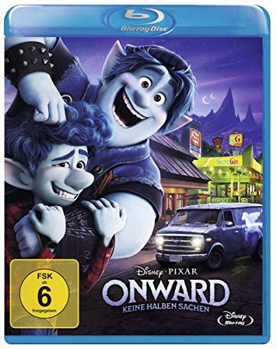 """Amazon Prime: """" Onward """" blu - ray , Animationsfilm von Walt Disney ab 6 Jahren , 23 Juli 2020 erschienen , top Bewertungen"""