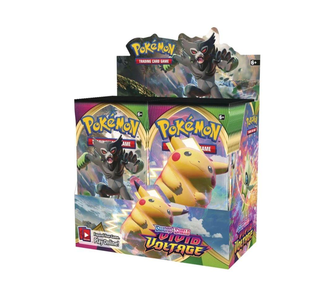 Pokemon Vivid Voltage Display