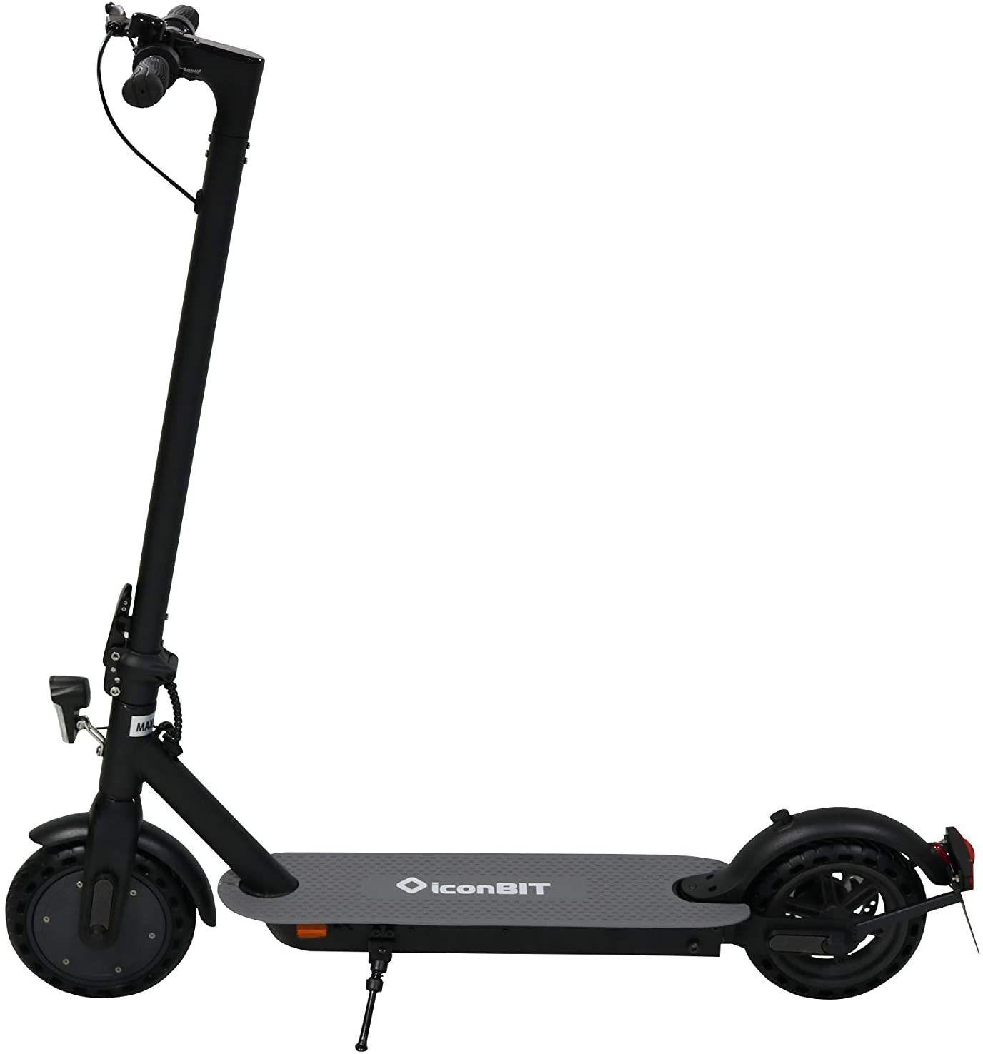 IconBit City Kick Scooter (StVO Zulassung, 20km Reichweite, 20km/h, 7.5Ah, 350W Leistung, 100kg belastbar) [V&V Amazon]