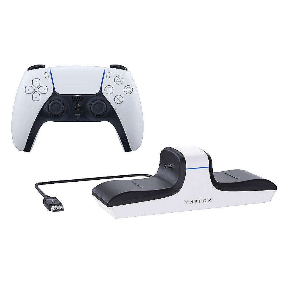 Sony PlayStation DualSense Wireless-Controller inkl. Raptor Dual Ladestation