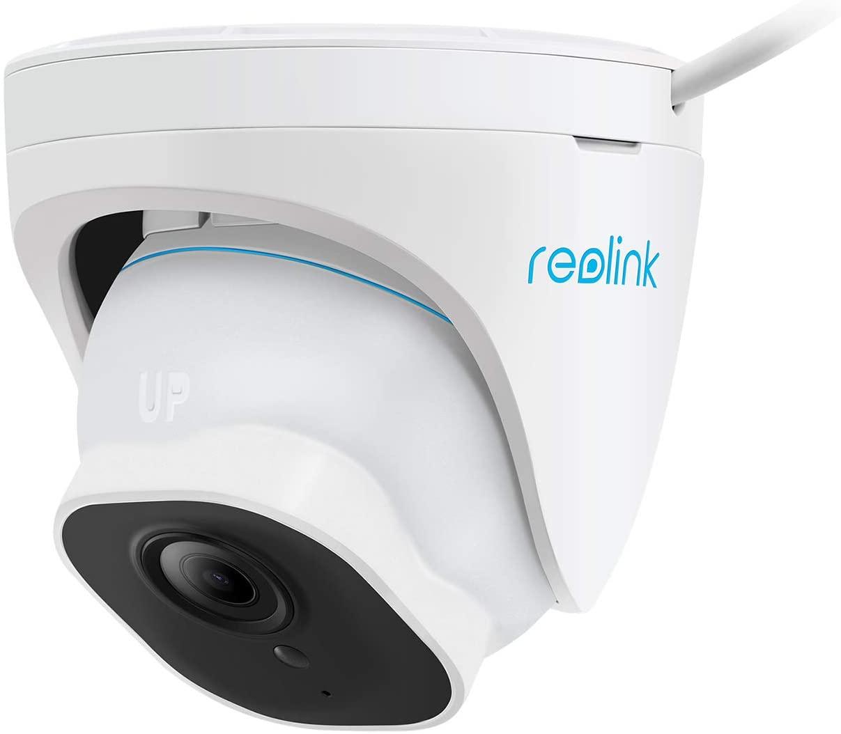 Reolink RLC-820A Überwachungskamera (3840x2160@25fps, PoE, 30m Nachtsicht, smarte Personen- & Autoerkennung, FTP, microSD, Google Assistant)